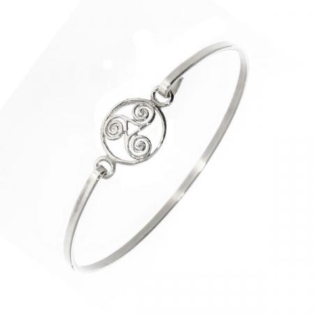 Bratara Argint simbol trio [2]