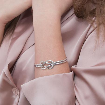 Brățară rigidă din argint 925 [3]