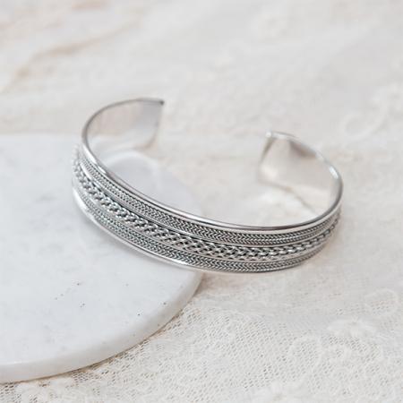 Bratara argint model oriental [4]