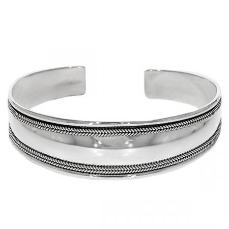 Brățară fixă din argint 925 [0]