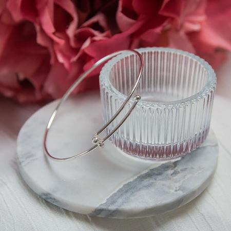 Bratara circulara reglabila din argint [3]