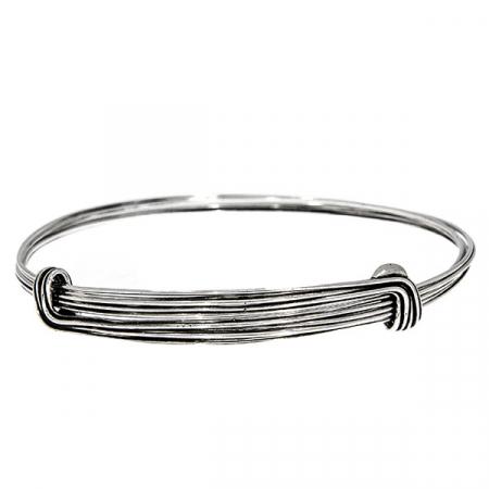 Brățară din argint antichizat formată din verigi multiple [0]
