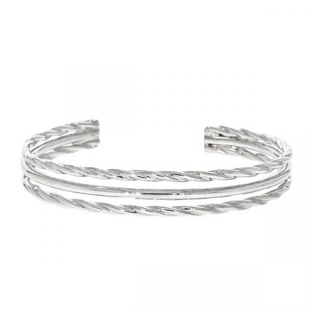 Brățară semi-rigidă din argint [0]