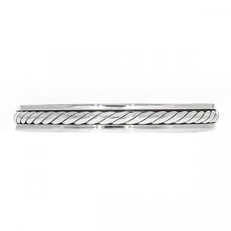 Brățară argint unisex semi-rigidă [2]