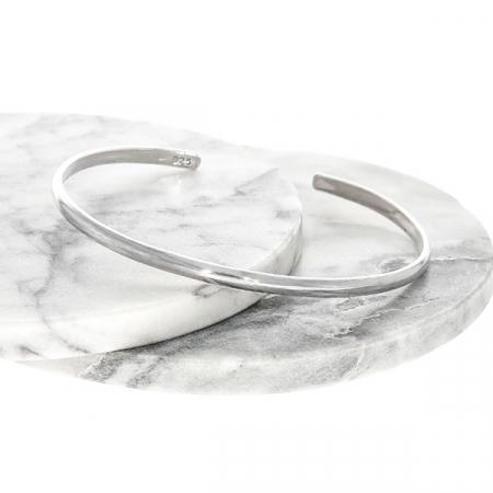 Brățară, fixă, simplă din argint [2]