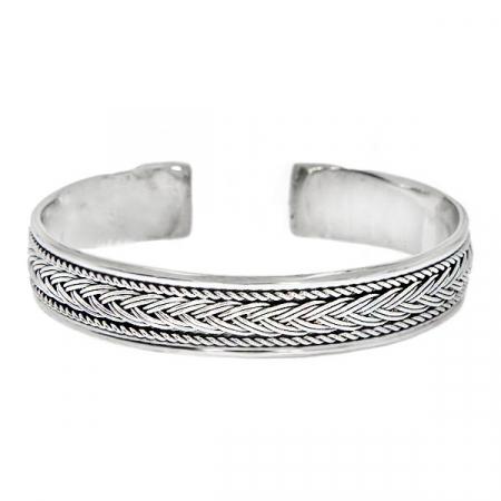 Bratara argint circulara model rasucit [2]