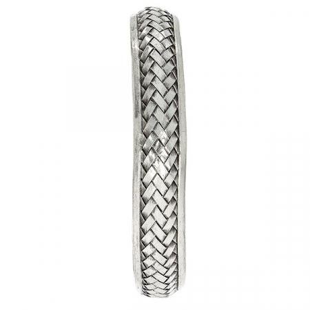 Bratara argint model impletit [2]