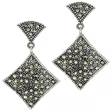 cercei-lungi-eleganti-argint-antichizat-marcasite-janette [0]