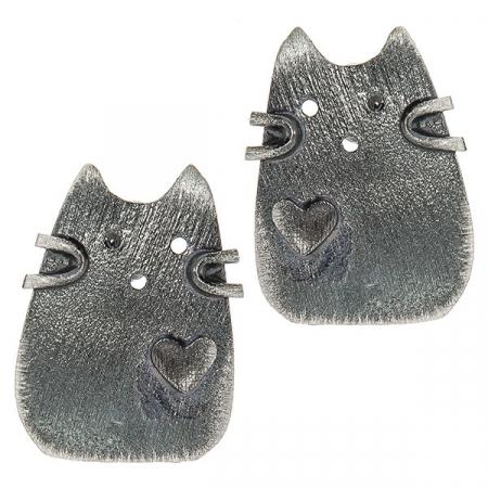 cercei-argint-satinat-pe-lob-model-pisicute-cu-inimioara-janette [0]