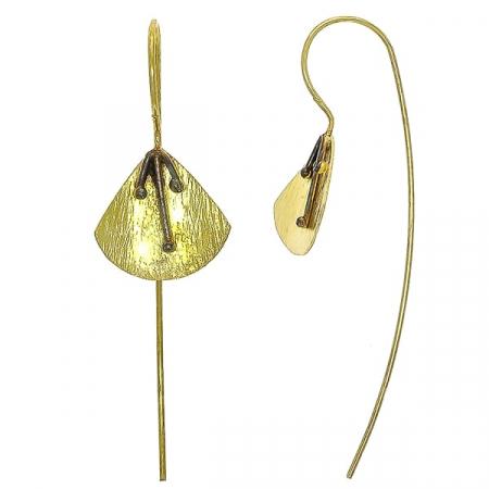 cercei-lungi-argint-satinat-aurit-model-floral-janette [0]