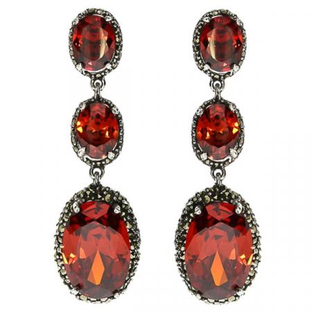 cercei-lungi-eleganti-deosebiti-argint-marcasite-zirconii-rosii-cristale-fatetate-janette [0]