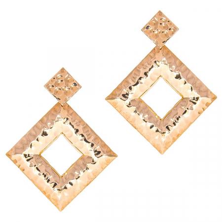 cercei-argint-placat-cu-aur-rose-model-geometric-texturat-janette [0]
