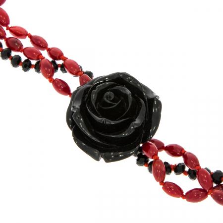 Colier Black Rose [0]