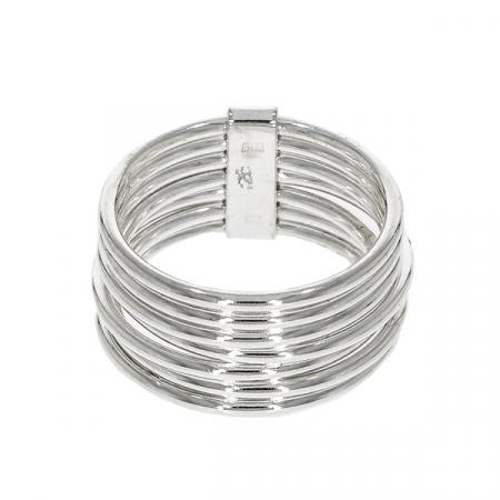 Inel din argint cu verigi unite [2]