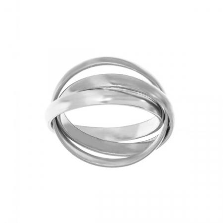 Inel din argint cu verigi intercalate [2]