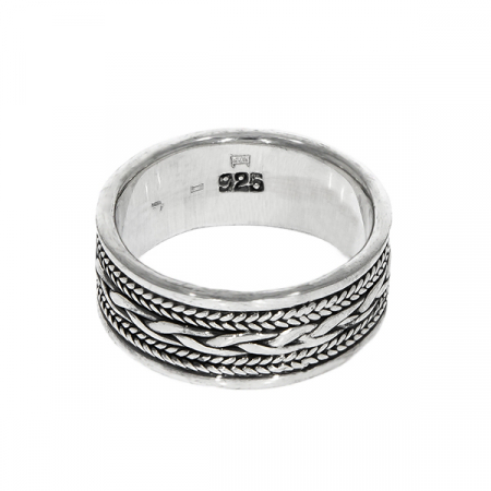 Inel din argint cu model antichizat [2]
