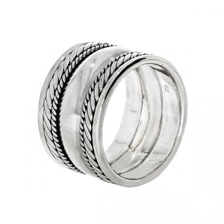 Inel lat din argint 925 [2]