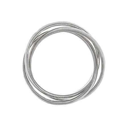 Inel din argint 925 cu verigi intercalate [3]