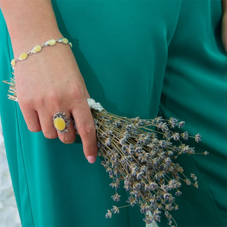 Inel Argint FloareNordică [3]