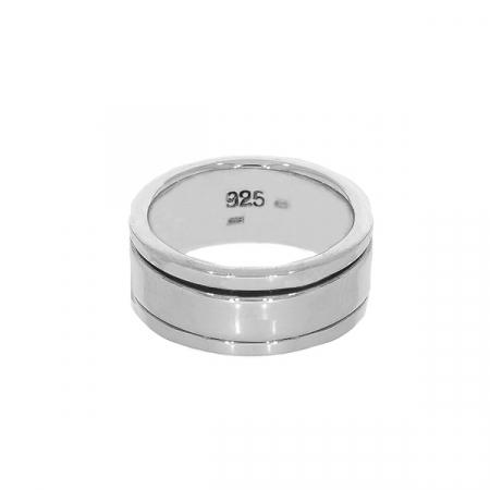 Inel verighetă antistres din argint [2]