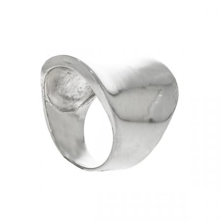 Inel argint model lat [5]