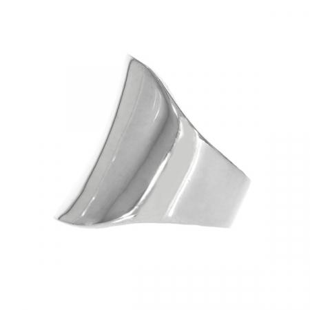 Inel argint model lat [10]
