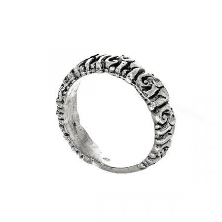 Inel din argint cu elefanți [3]