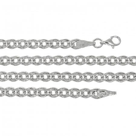 Lanț din argint pentru barbați, cu zale [0]