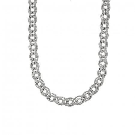 Lanț din argint pentru barbați, cu zale [1]