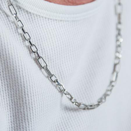 Lanț bărbătesc din argint cu zale model versace [0]