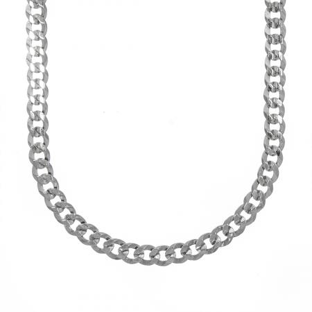 Lanț bărbătesc din argint cu zale [0]