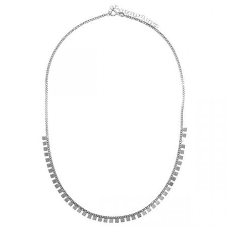 Lantisor argint model placute [2]