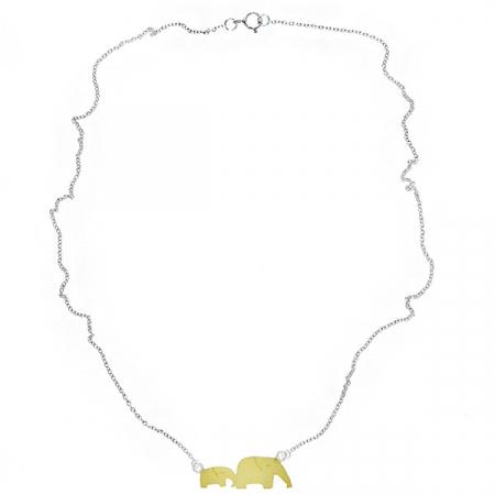 Lănțișor Argint Elefanți [2]