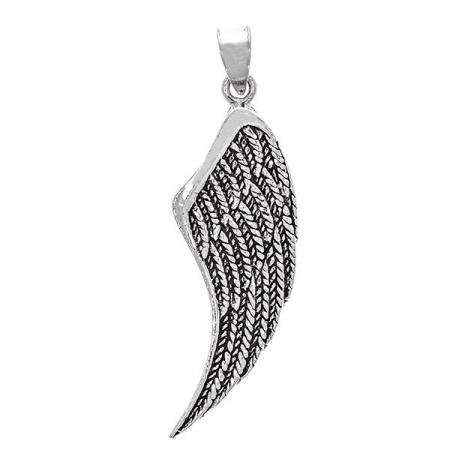Pandantiv aripă din argint antichizat [0]