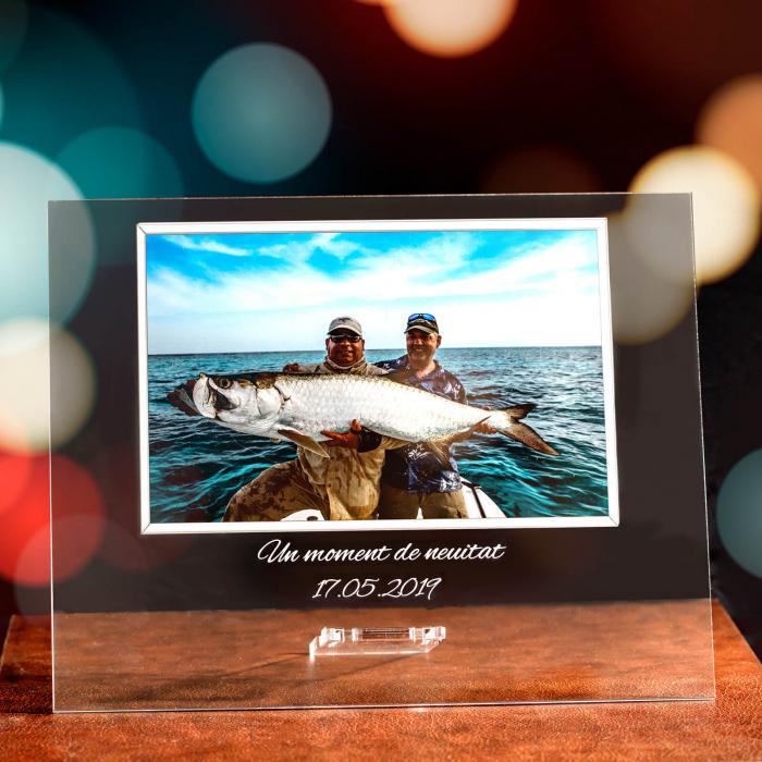 "Cadou personalizat Placheta  ""Pasiune pentru pescuit"" [0]"