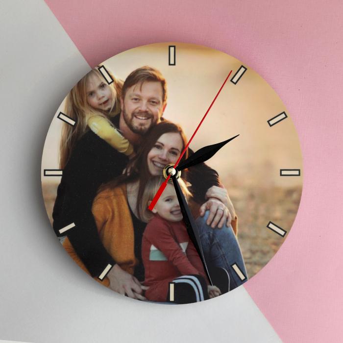 Ceas personalizat cu o poză [0]