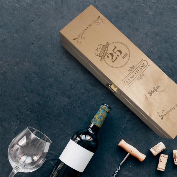 Cutie de vin personalizată - pentru el [0]