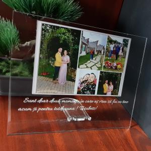 Plachetă personalizată cu 5 poze și mesaj [1]