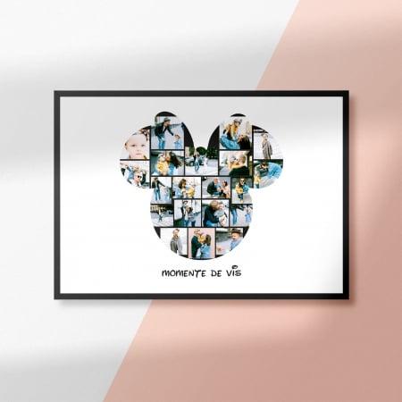 Tablou personalizat cu 20 de poze Minnie Mouse