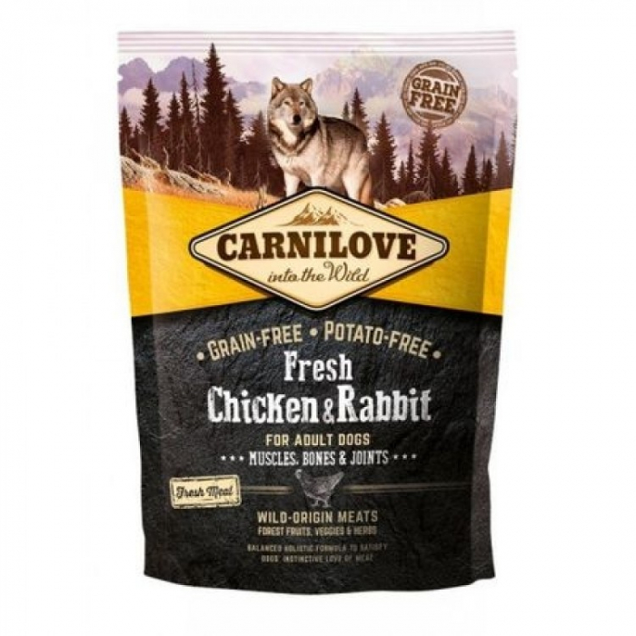Carnilove Fresh Ostrich and Lamb for Small Breed Dogs 1.5 kg / jolexpet [0]