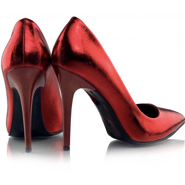Pantofi Arina Rosii 2