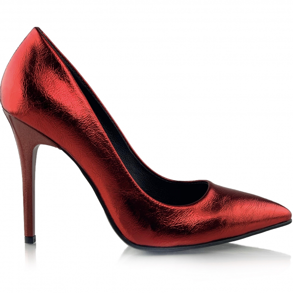 Pantofi Arina Rosii 1