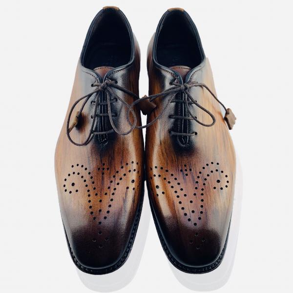 Pantofi eleganți din piele naturală Erik Maro 4