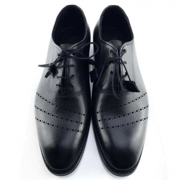 Pantofi eleganți din piele naturală Lorenzo Negri 4