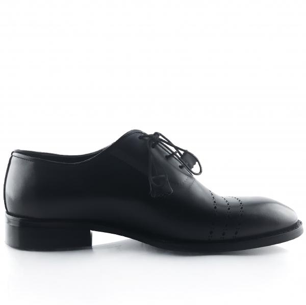 Pantofi eleganți din piele naturală Lorenzo Negri 3