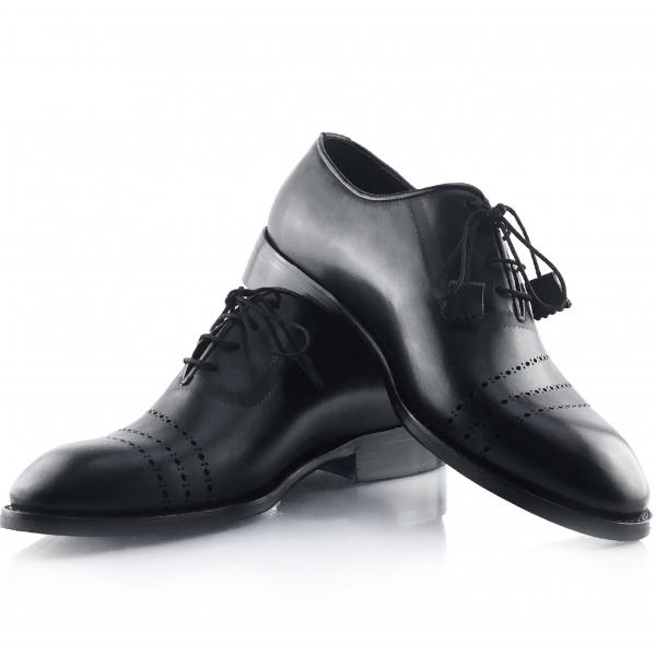 Pantofi eleganți din piele naturală Lorenzo Negri 0