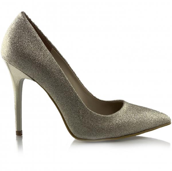 Pantofi Asmara Aurii 1