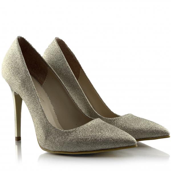Pantofi Asmara Aurii 0