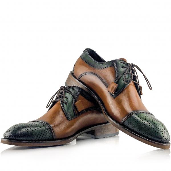 Pantofi eleganți din piele naturală Fabio 0