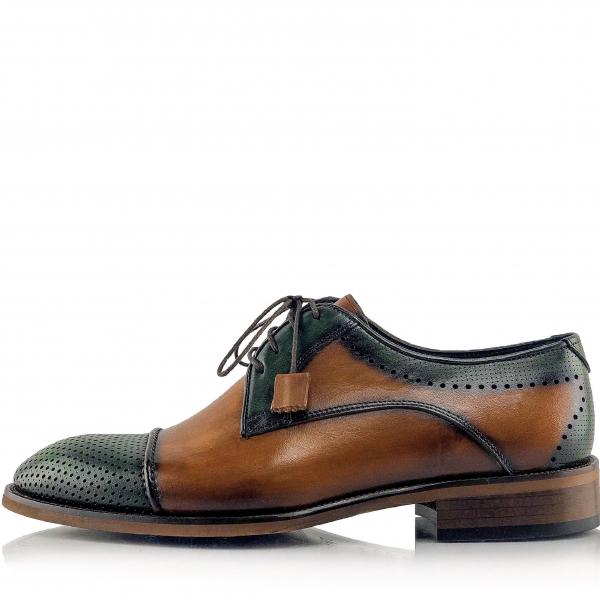 Pantofi eleganți din piele naturală Fabio 2